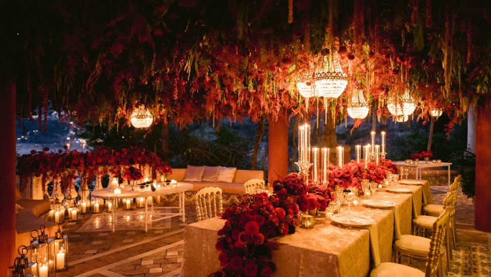 Luxury Private Italian Event Positano Bay