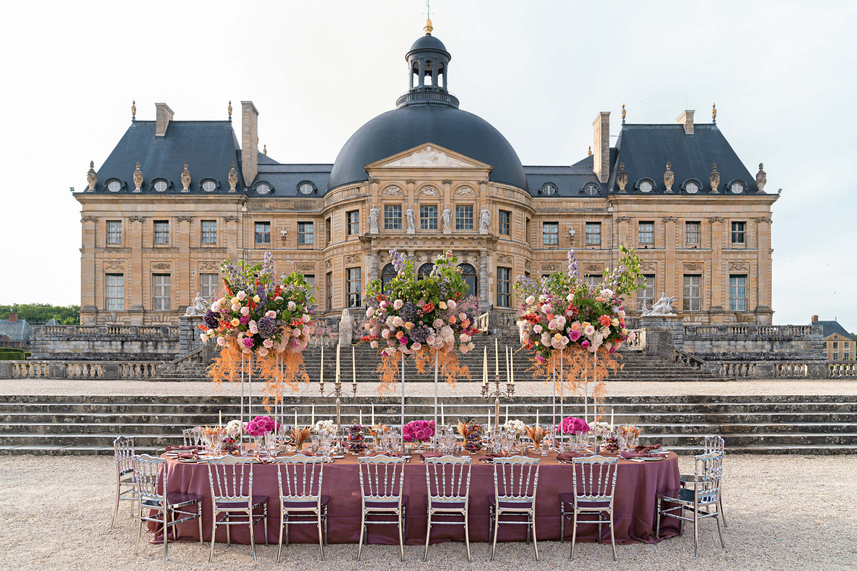 Magical Paris Chateau Wedding
