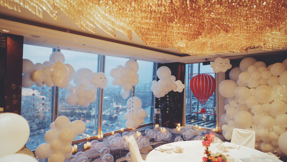 Personalised afternoon Tea in the Clouds